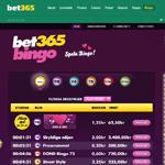 Bet365 Bingo hemsida